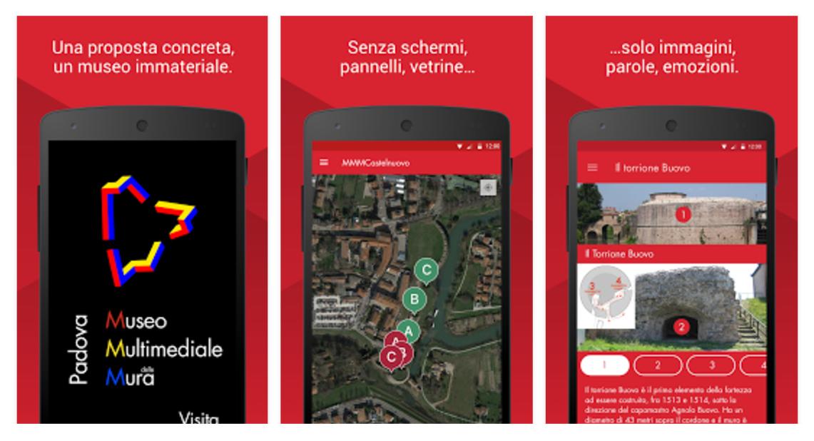 MMMCastelnuovo, l'app del Museo Multimediale delle Mura di Padova